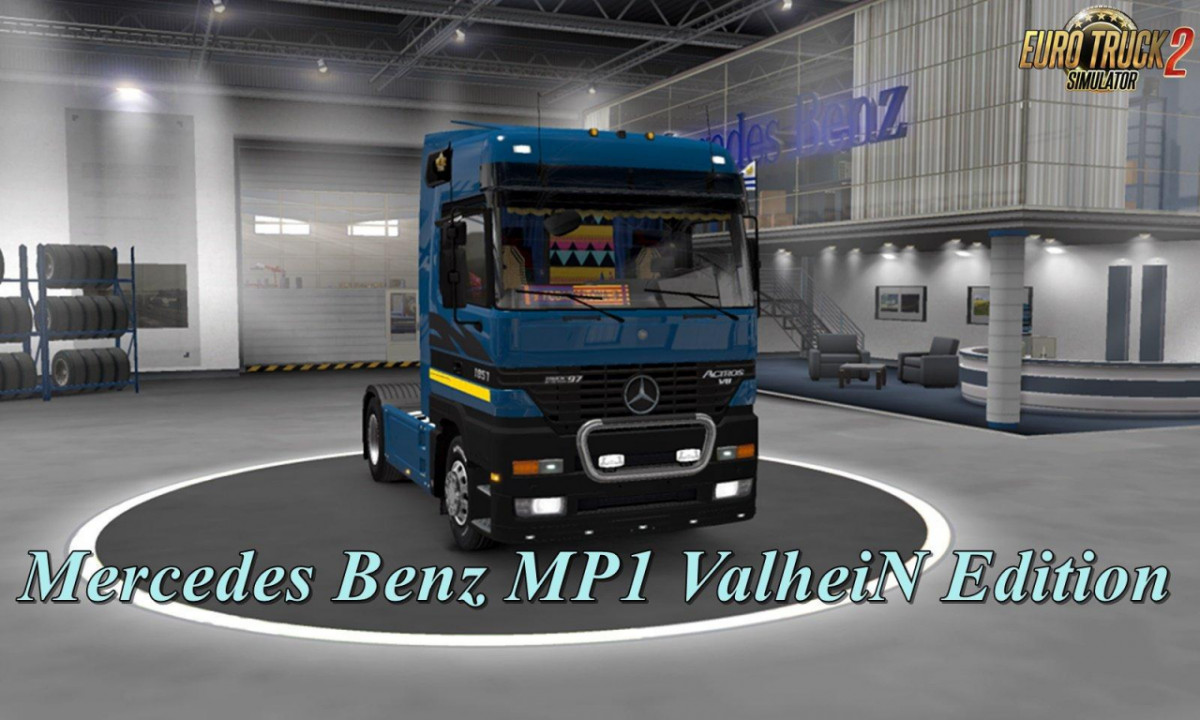 Mercedes Actros MP1 by ValheinXL v1.2 1.39