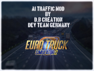 "D.B Creation's ""AI Traffic Mod"" for ETS 2 1.39"