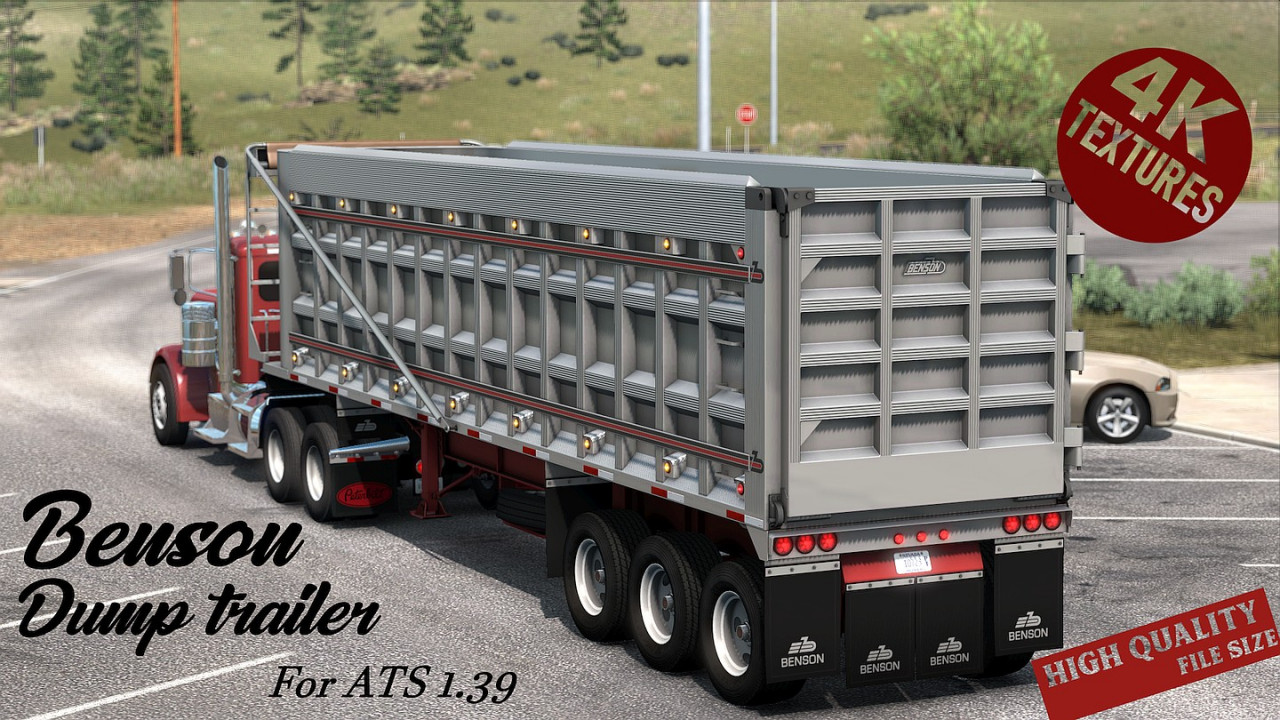 Dump Trailer for ATS 1.39