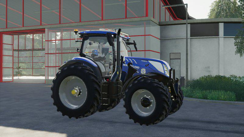 New HOLLAND T7 SWB MODDED