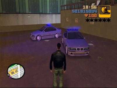 BMW M5 POLICECAR