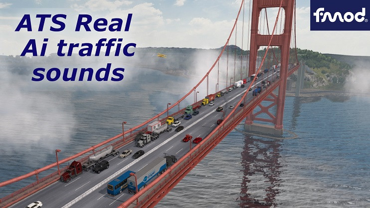 Real Ai Traffic FMOD Sounds ATS 1.39