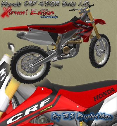 Honda CRF450R Xtreme Edition Beta