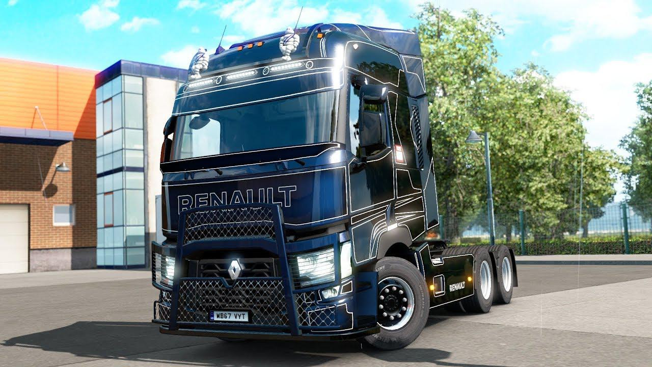 Renault T tuning pack