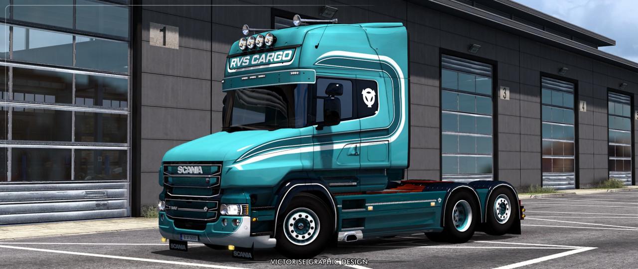 RVS Cargo RJL's Scania T Skin