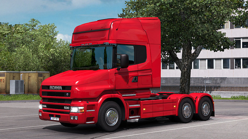 Scania T4 series addon for RJL Scania