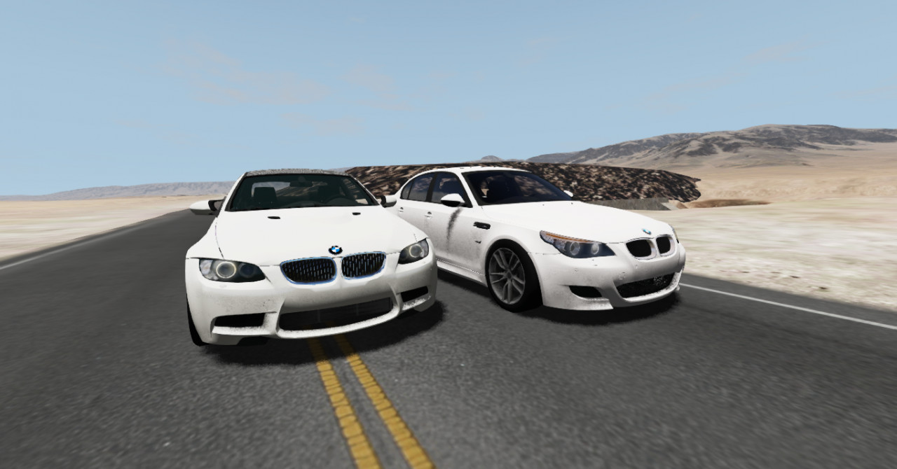 BMW M3 and BMW M5 pack.