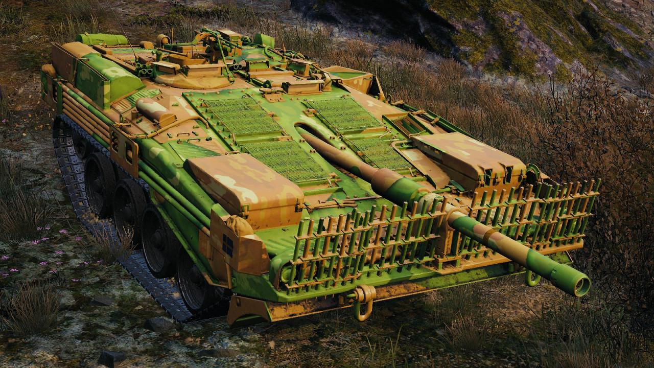 STRV 103B GREEN-YELLOW CAMO