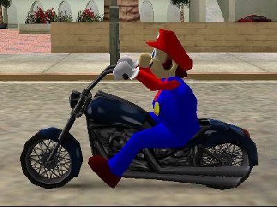Mario Player Model
