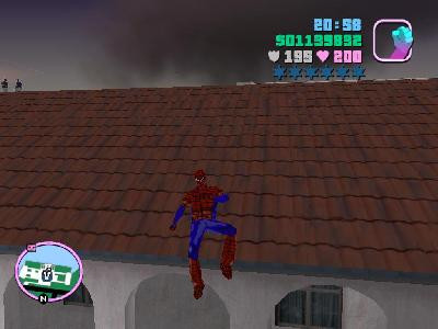 Spiderman skin