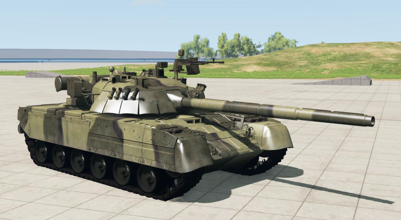 Tank T-80UD