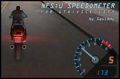 NFSU Speedometer
