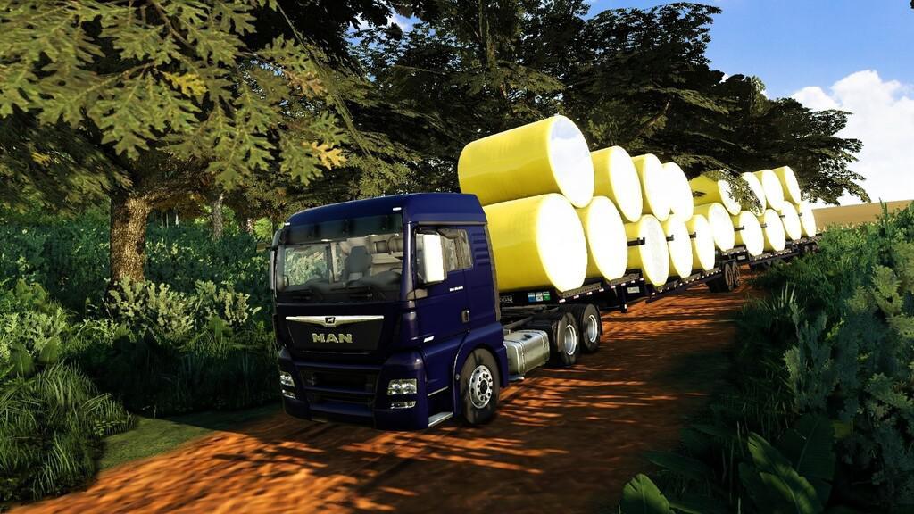 Trailer Bi-train Cotton Bales Autoload
