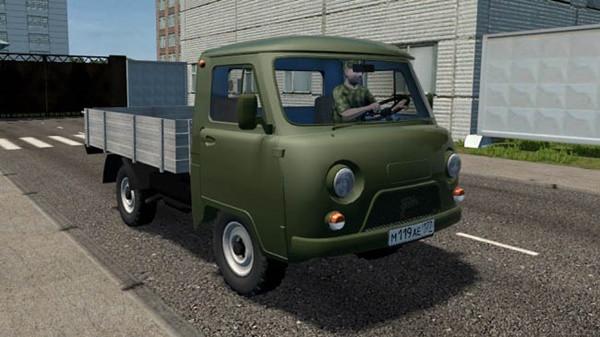 Uaz 3303 Truck