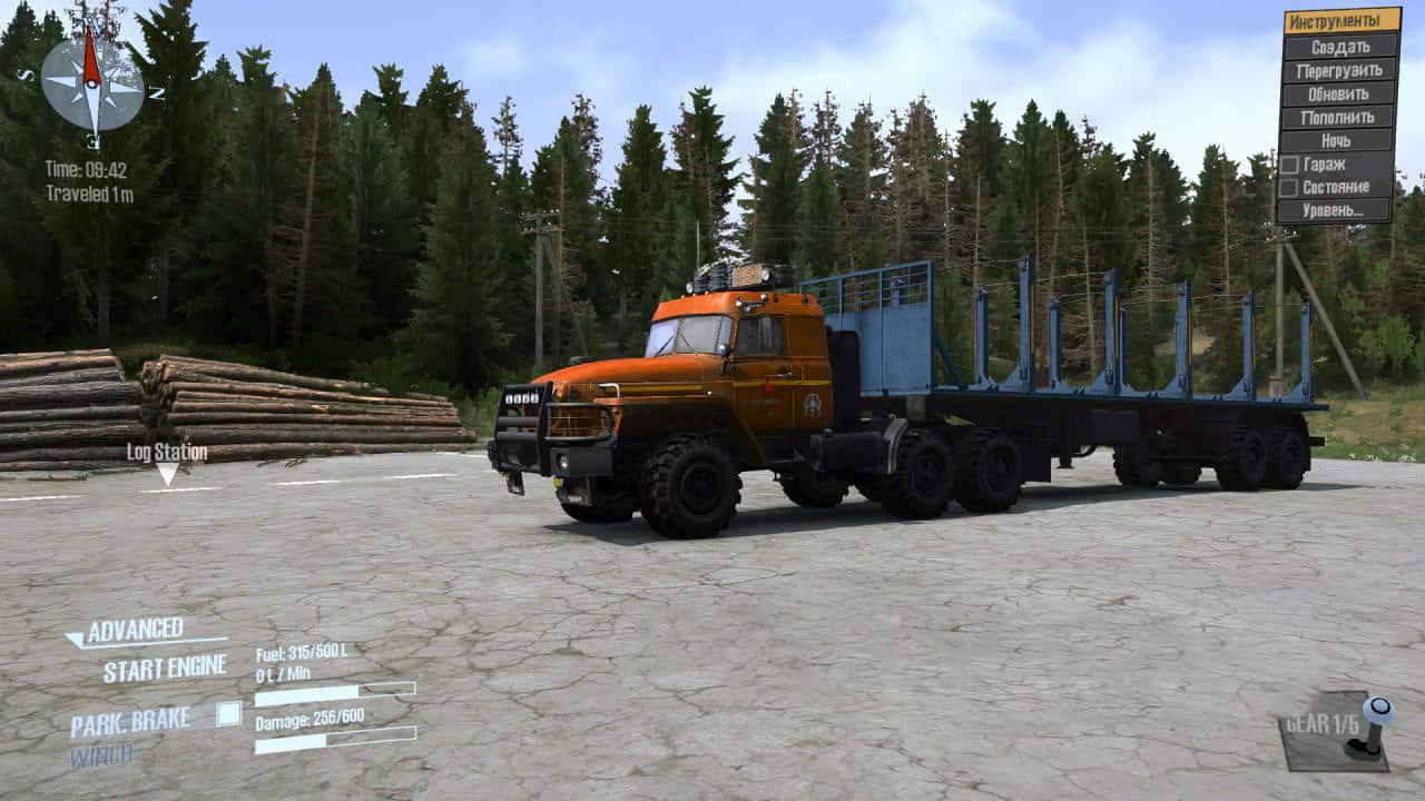 URAL 44202 Truck