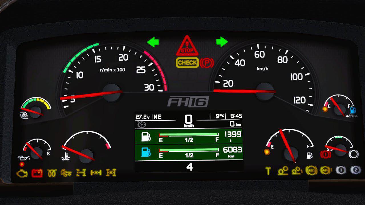 Volvo 2009 Onboard Computer 1.36 - 1.39