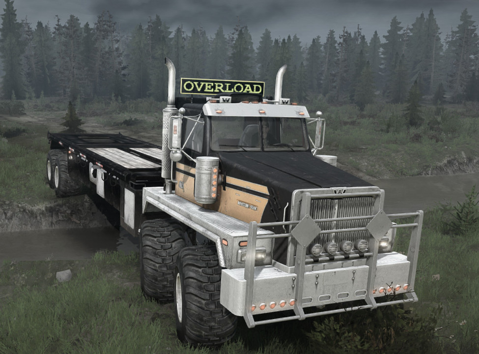 WESTERN STAR 6900XD TWIN STEER for Mudrunner