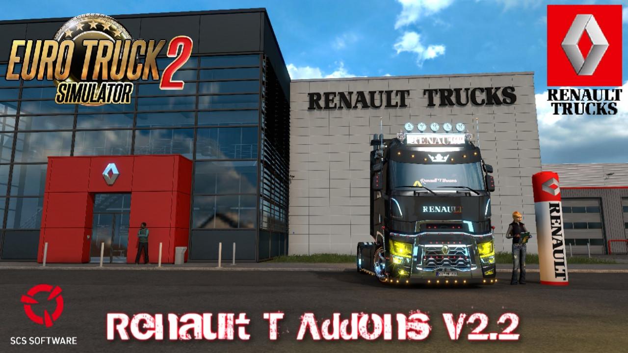 Renault T Addons v2.2