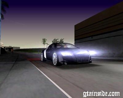 Audi R8 V 12 TDI Black Revel