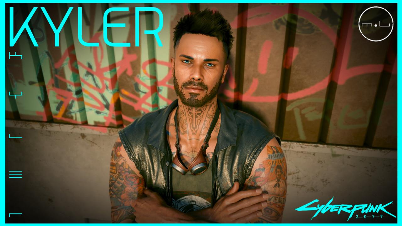(MU) Kyler - (Character Preset Male)