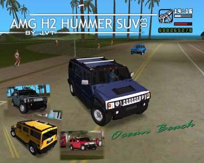AMG H2 HUMMER type SU