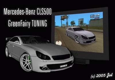 Mercedes-Benz CLS500 Green Fairy