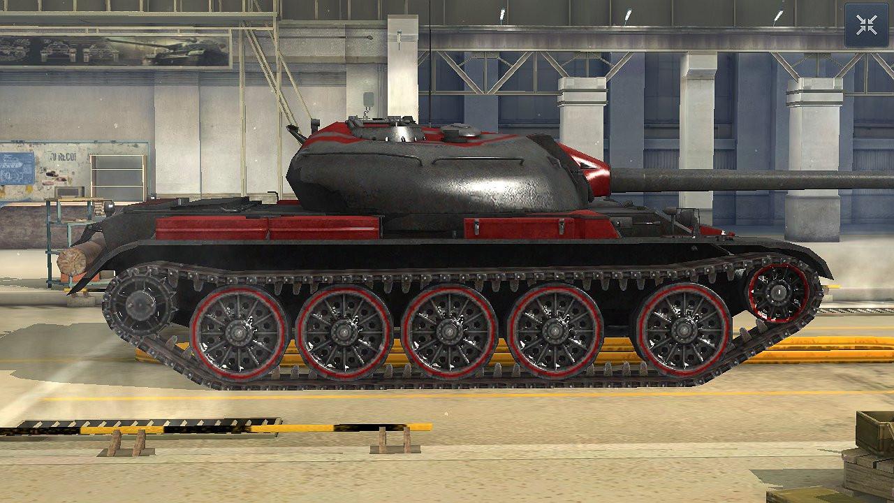 """""""T-54 Battle Master"""" skin for World of Tanks Blitz"""