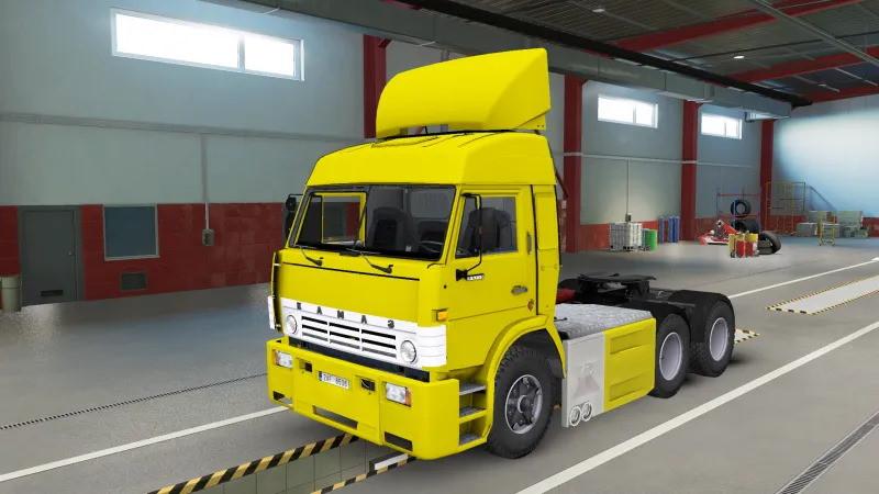 Kamaz-54115 Turbo V8