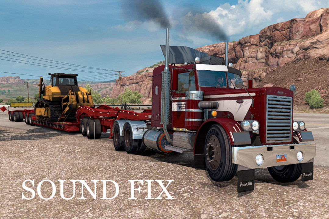 Sound fix for Peterbilt 281-351 mTG
