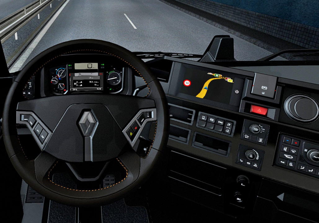 Dark interior for Renault Range T