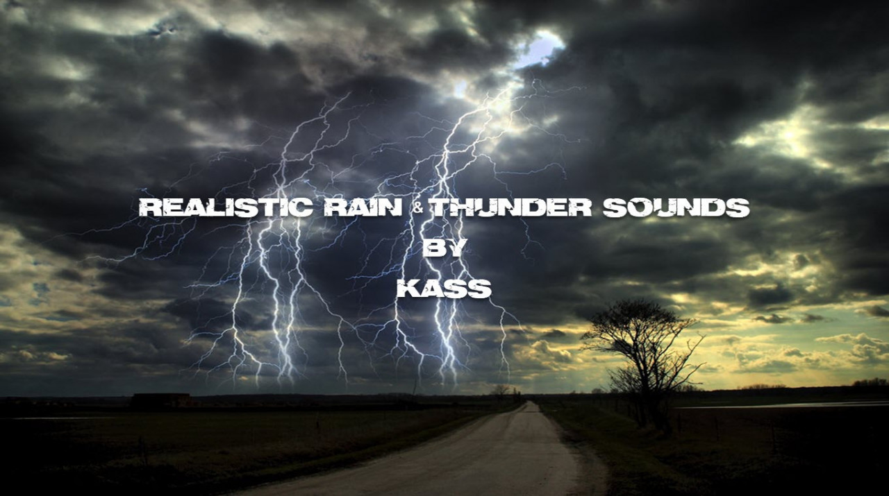Realistic Rain & Thunder Sounds