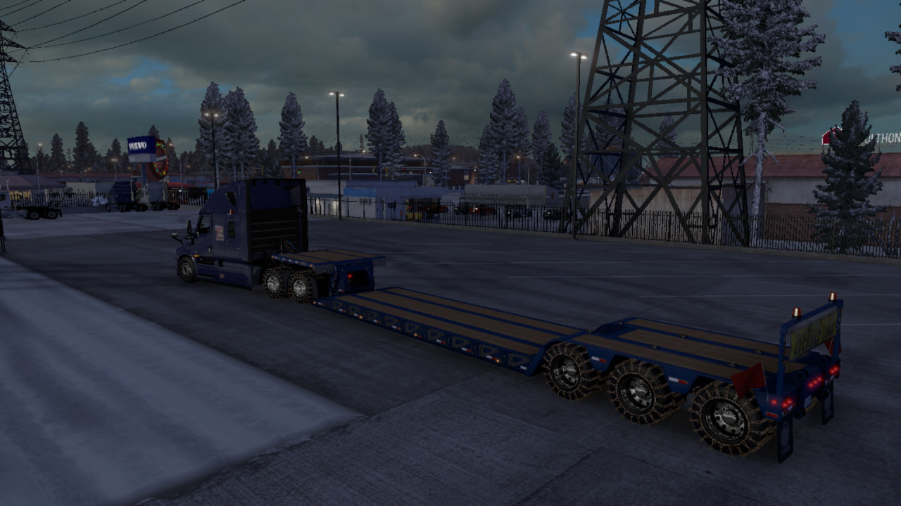 Heavy Duty tire and Winter Chain tire for Frosty Heavy Winter mod