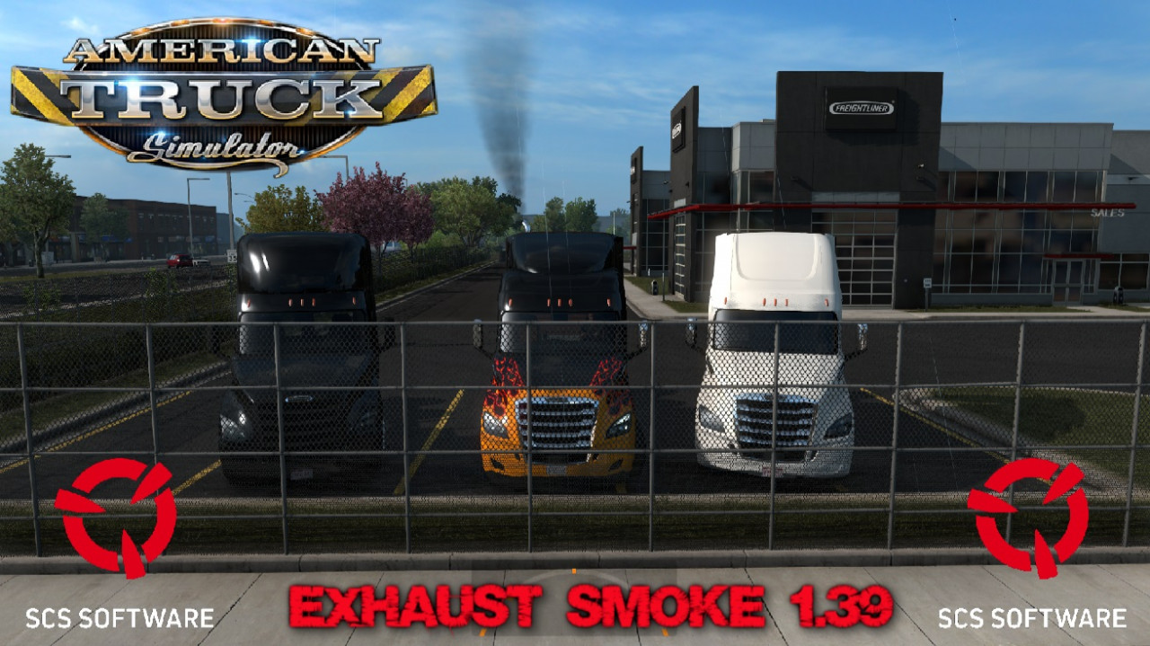 Exhaust Smoke for ATS