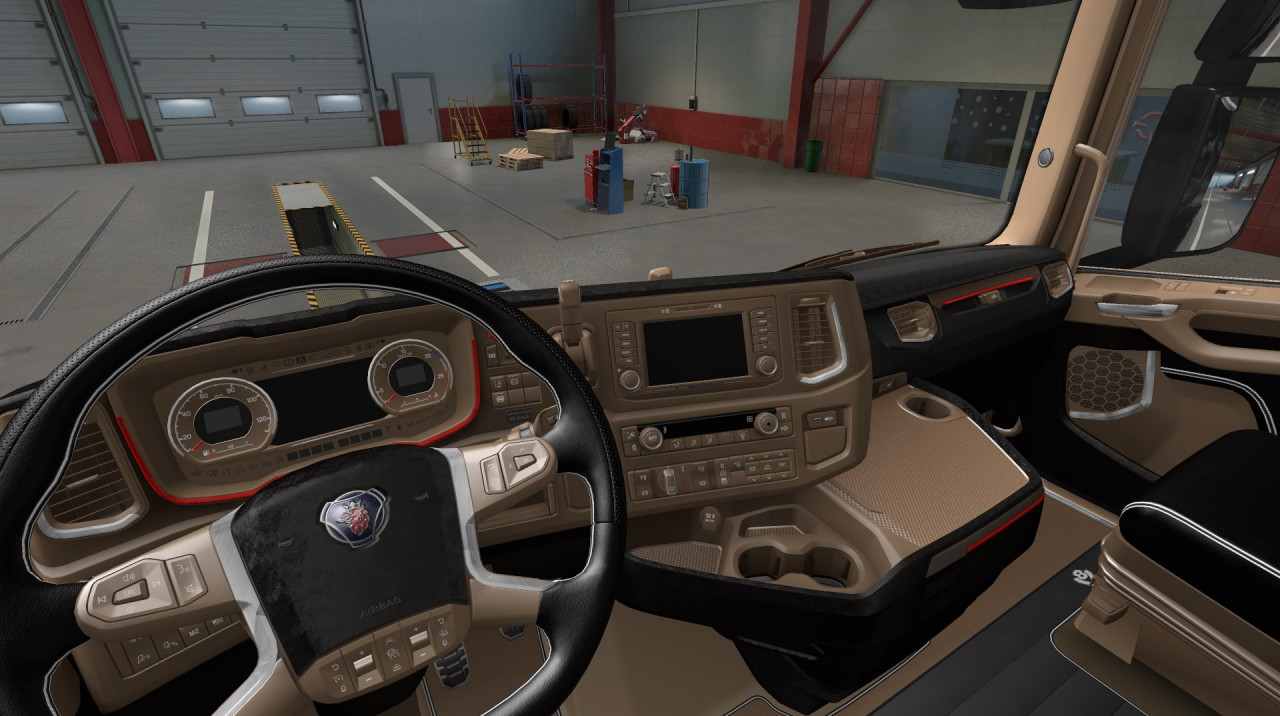 Lux Interior For Scania SR by kRipt
