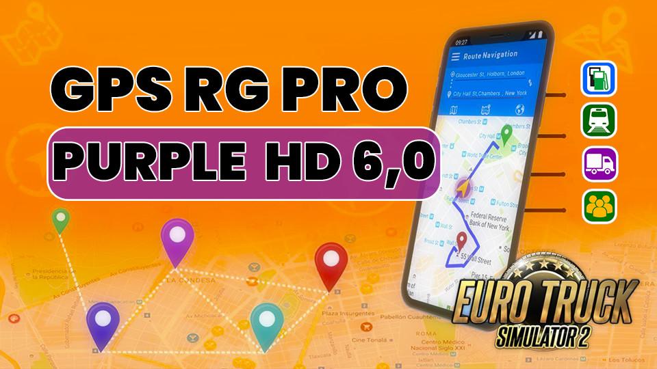 GPS RG PRO PURPLE HD