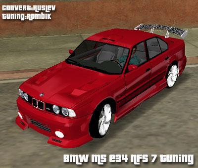 BMW M5 E34 Tuning