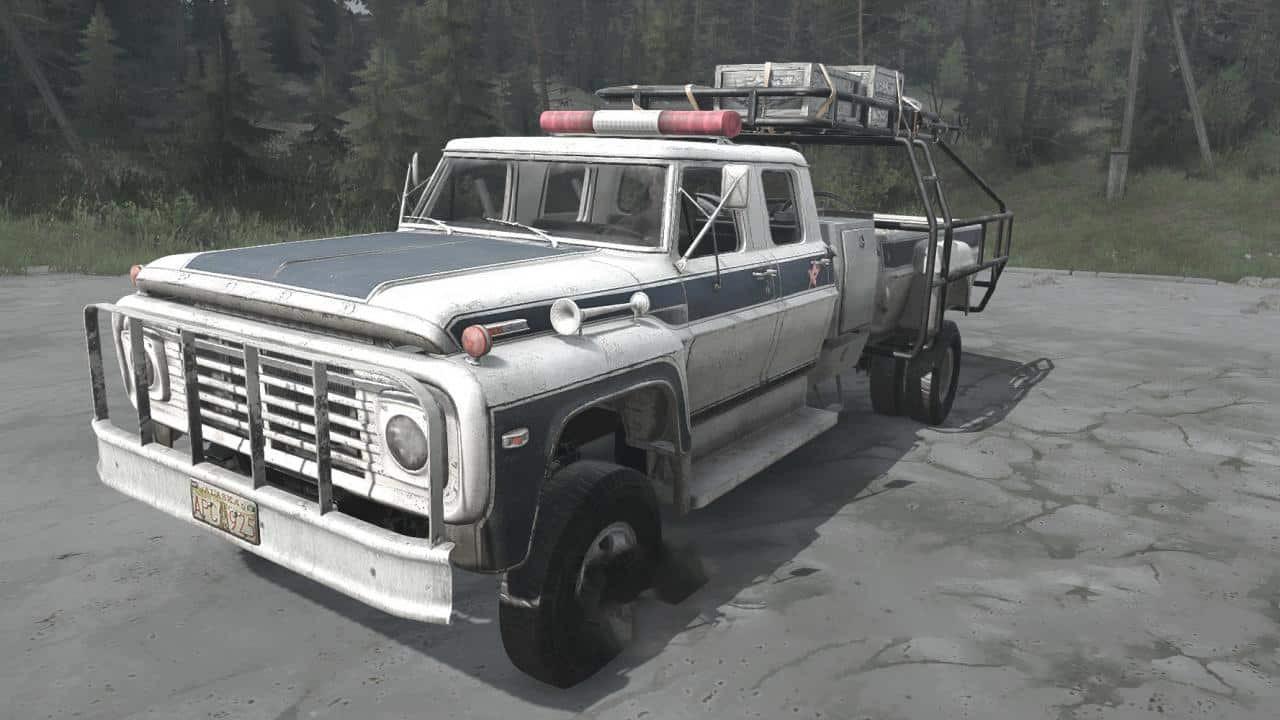 Ford F-750 Truck