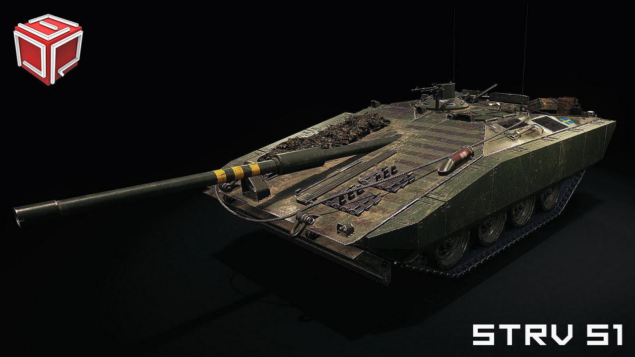 Professors' Strv S1 Remodel