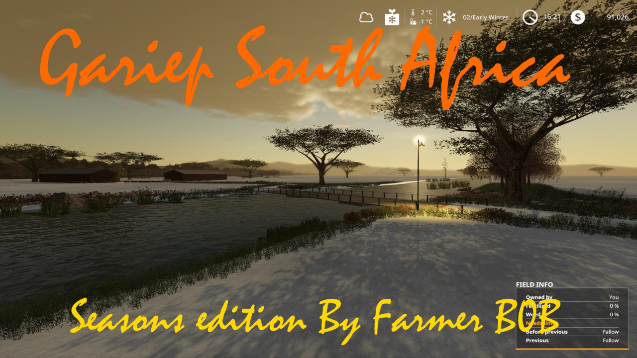 Gariep South Africa Seasons Edition