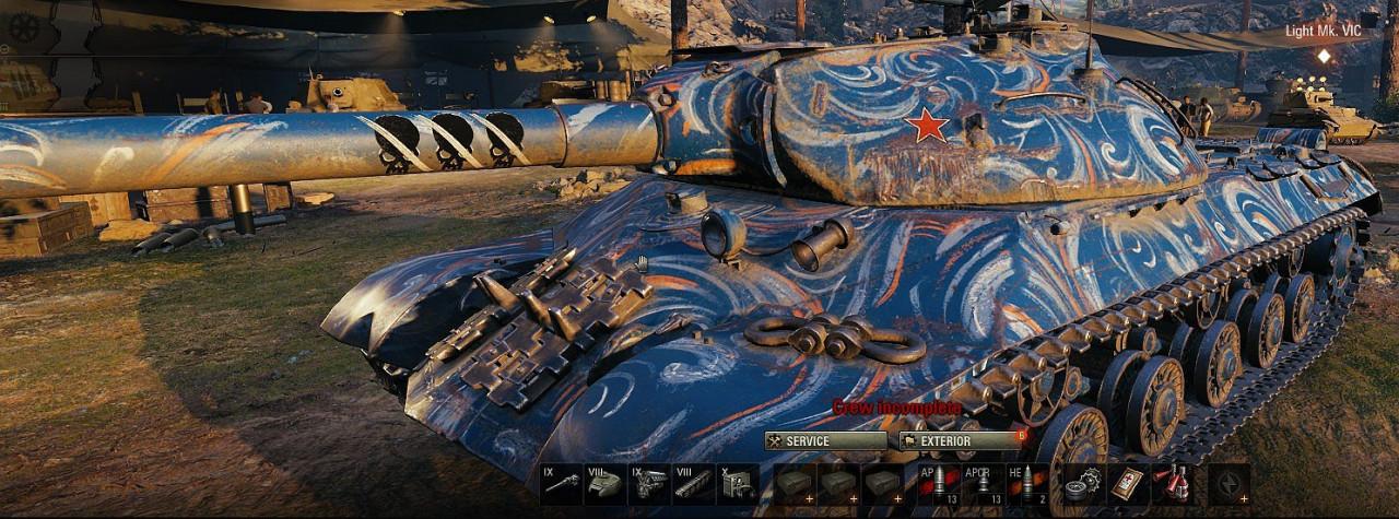 KV-2(R) MOE for all tanks