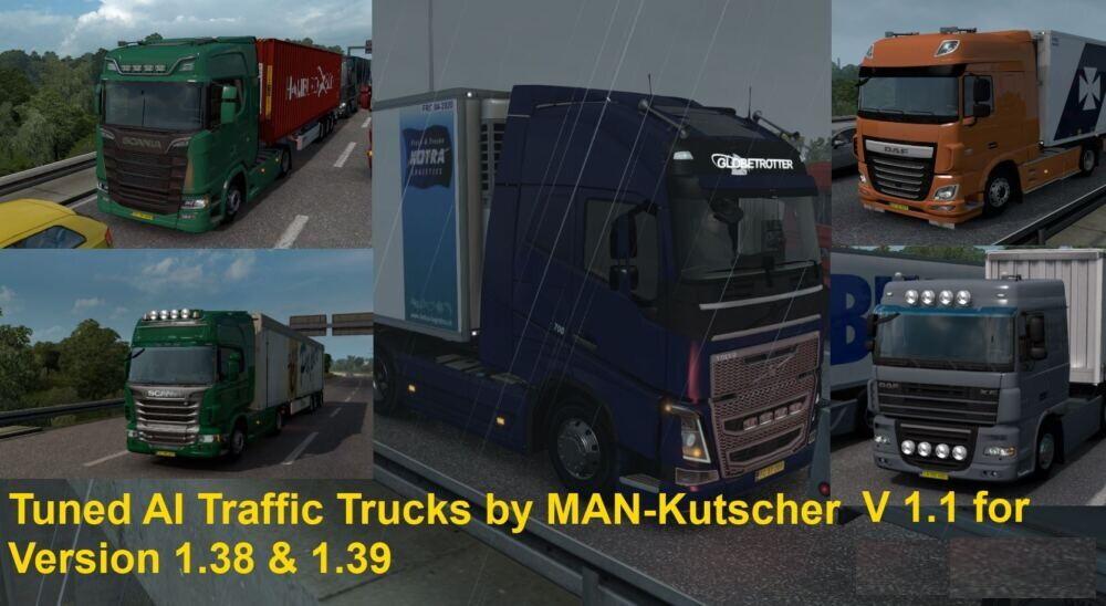 Tuned AI Traffic Trucks by MAN-Kutscher