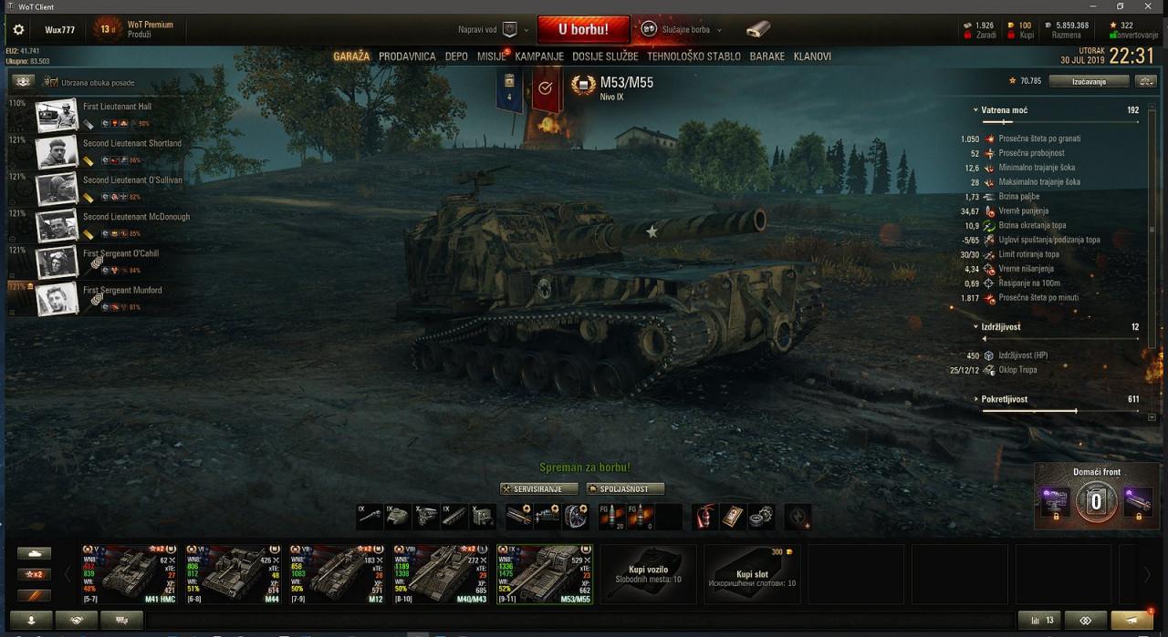 Historical tankmen