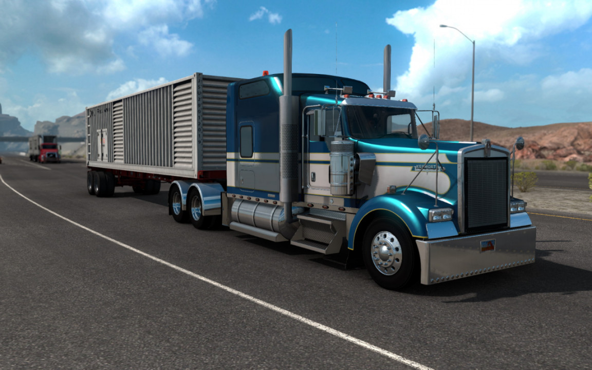 Kenworth W900L Big Bob Edition for 1.39.x