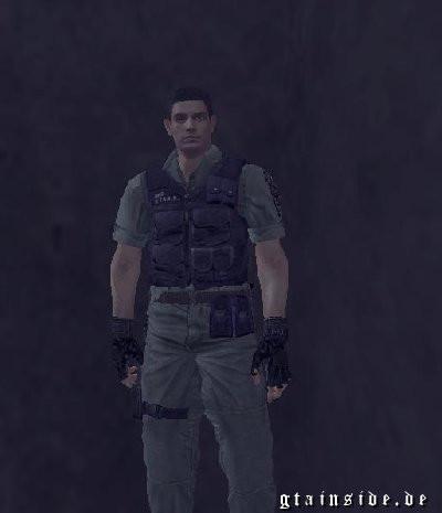 Resident Evil Chris Redfield