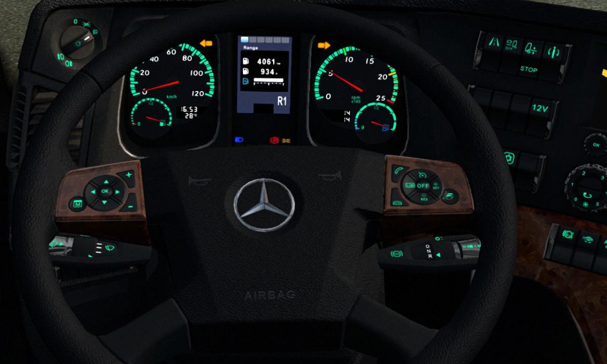 Dashboard Lights Mercedes