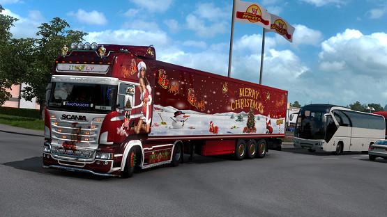 Christmas Combo RJL Krone Trailer