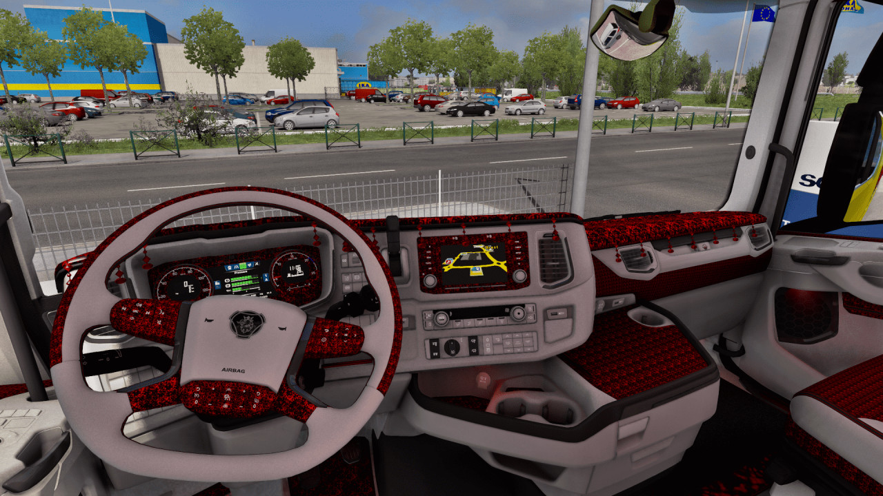 Scania Next Gen Custom Interior