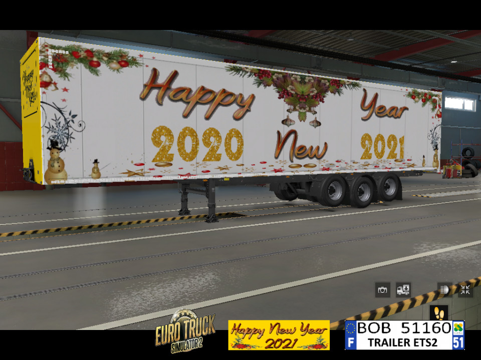 ETS2 Trailer HAPPY NEW YEAR