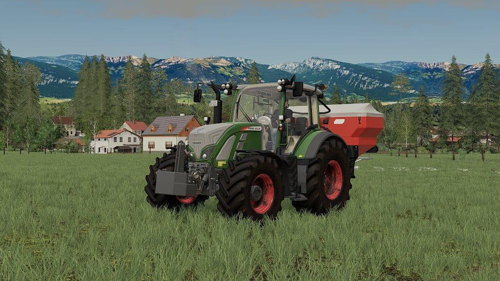 Fendt Weight 870Kg