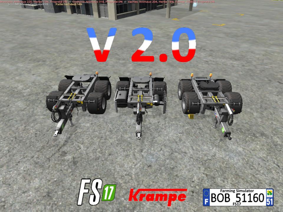 krampe Dolly 10 20L 30L By BOB51160